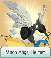 Gift Mech-Angel-Helmet Black