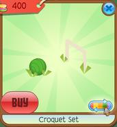Shop Croquet-Set Ball Green