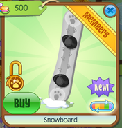 Shop Snowboard White