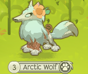 File:Arctic wolf with holiday sweater.png