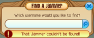 Buddy-List Find-A-Jammer not-found
