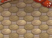 Mushroom-Hut Brown-Tile