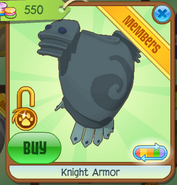 Shop Knight-Armor Teal