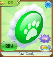 Paw Candy (Green)