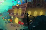 The outside of Sunken Treasures