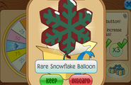 Daily-Spin-Gift Rare-Snowflake-Balloon