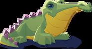 Renovated art croc