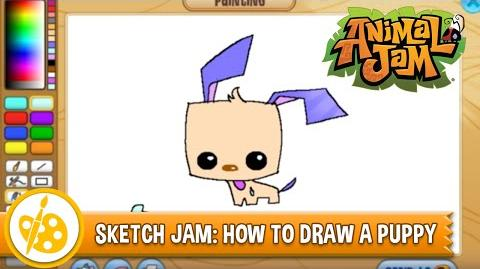 Sketch Jam - How to Draw a Puppy