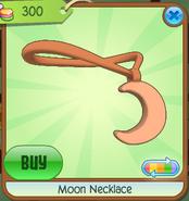 Moon Necklace Orange