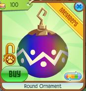 Shop Round-Ornament Zigzag-Rainbow