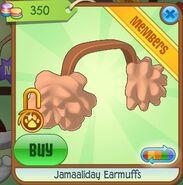 Jamaaliday Earmuffs (Light-Orange)