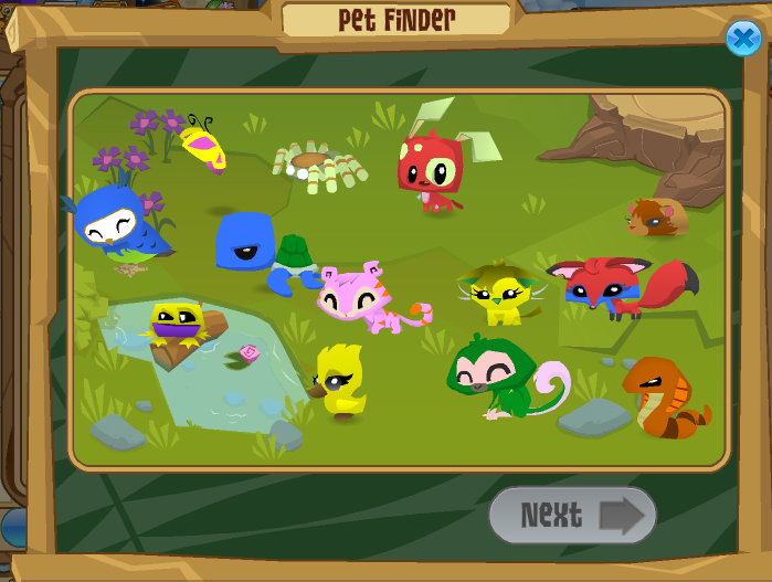 Image result for animal jam pet finder