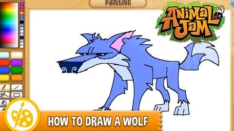 Sketch Jam - How to Draw a Wolf