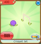 Shop Croquet-Set Ball Purple