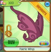 Faerie Wings (Raspberry)