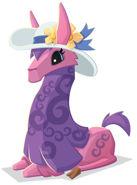Image Llama With Hat Png Animal Jam Wiki Fandom