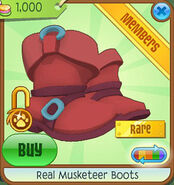 Shop Real-Musketeer-Boots Red