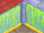 Sir-Gilberts-Palace Green-Slime-Wall