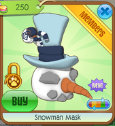 Snowman Mask2