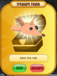 Rare Fox Hat (l orange)