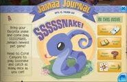 Jamaa Jounal pet snakes