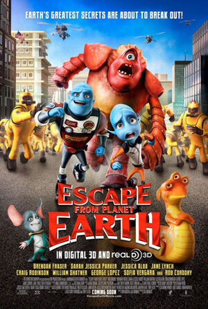 Escape from Planet Earth poster 2013