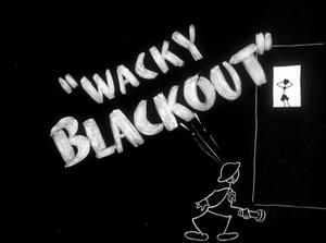 Wacky blackout 1942