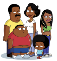 The Cleveland Show main characters