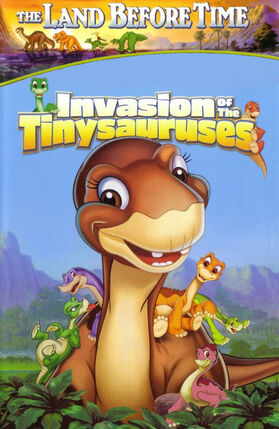 The land before time xi invasion of the tinysauruses
