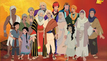 Muhammad the last prophet animated 2002 feature film characters