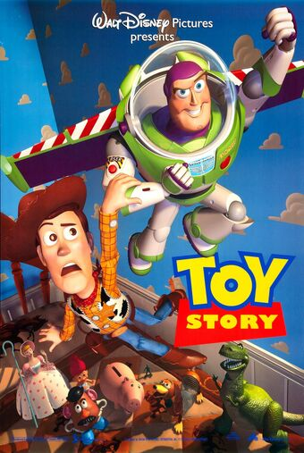 Toy Story 1995 poster