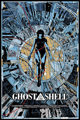 Ghost in the shell 1995 poster
