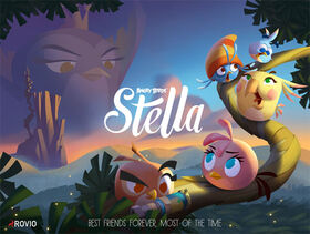 Angry Birds Stella promo