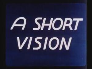 A Short Vision Title Card