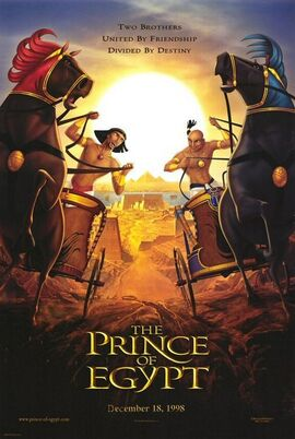 The Prince of Egypt Movie Poster