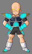 Krillin Saiyan Armor by hsvhrt