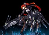 Koakuma in Bulla's armor