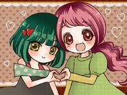Heartcatch Returns! Pretty Cure Futaba and Lily