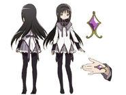 Homura Akemi Anime Design