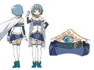 Sayaka Miki Anime Design