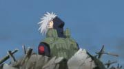 Kakashi Defeated by Pain