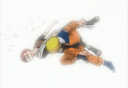Naruto defeats gaara