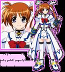 Chara 01 Nanoha Takamachi
