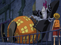 Luffy Confronts Moriah