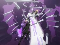 Hibari defeats Gamma