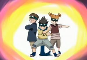 Konohamaru Ninja Squad