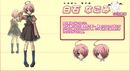 Nagomi Shiraishi Anime Design
