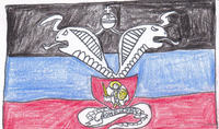 Flag of Cobra Forces of Donetsk