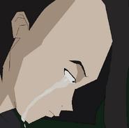 YumiIshimaya crying over Ulrich