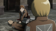 Attack on Titan Ep 6 Hannah and Franz